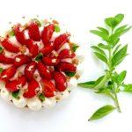 Tarte fraises et basilic