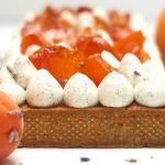 Tarte abricot et lavande
