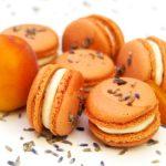 Macarons abricot et lavande