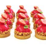 Tartelette aux fraises et basilic