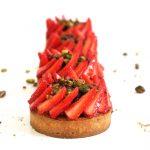 Tarte fraise et pistache