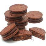 Biscuits chocolat et praliné