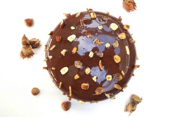 Gâteau chocolat et praliné
