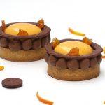 Tartelette orange et chocolat