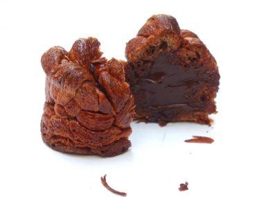 Brioche feuilletée chocolat