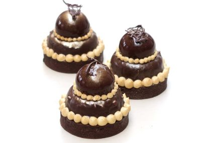 Tarte religieuse au chocolat