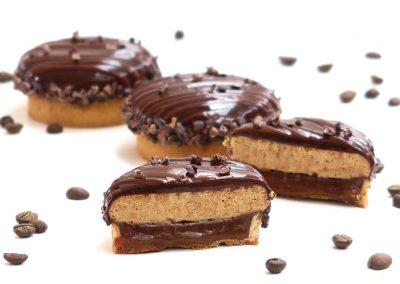 Tartelette au café et au chocolat