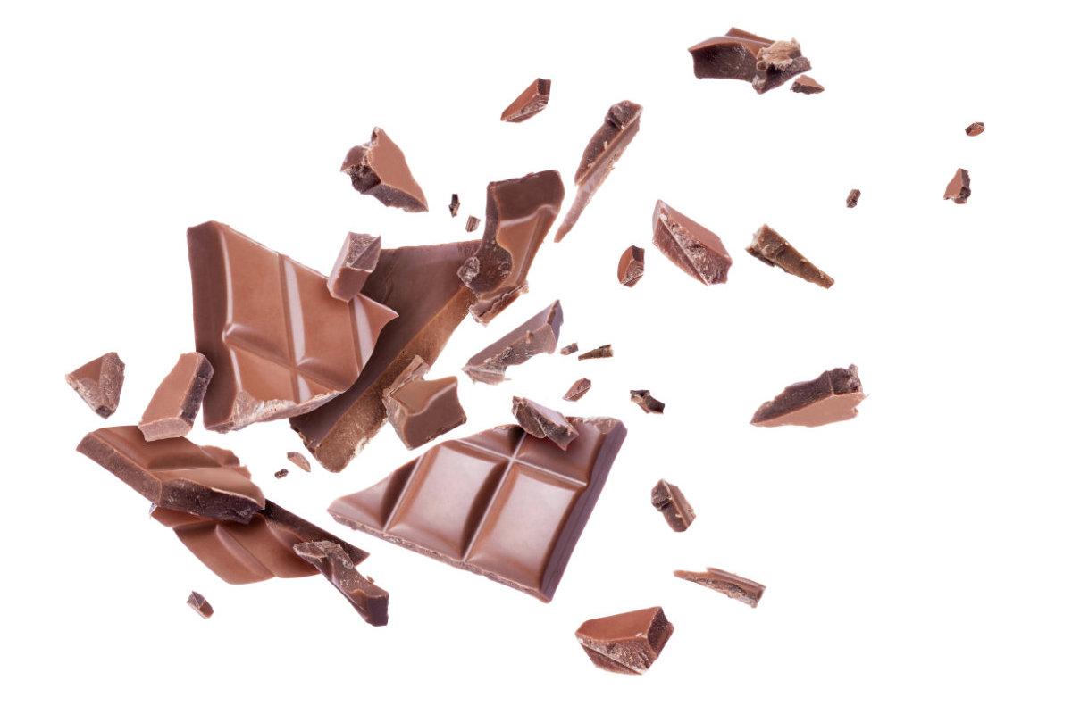 Entremet au chocolat et aux noisettes