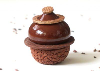 Chou chocolat praliné